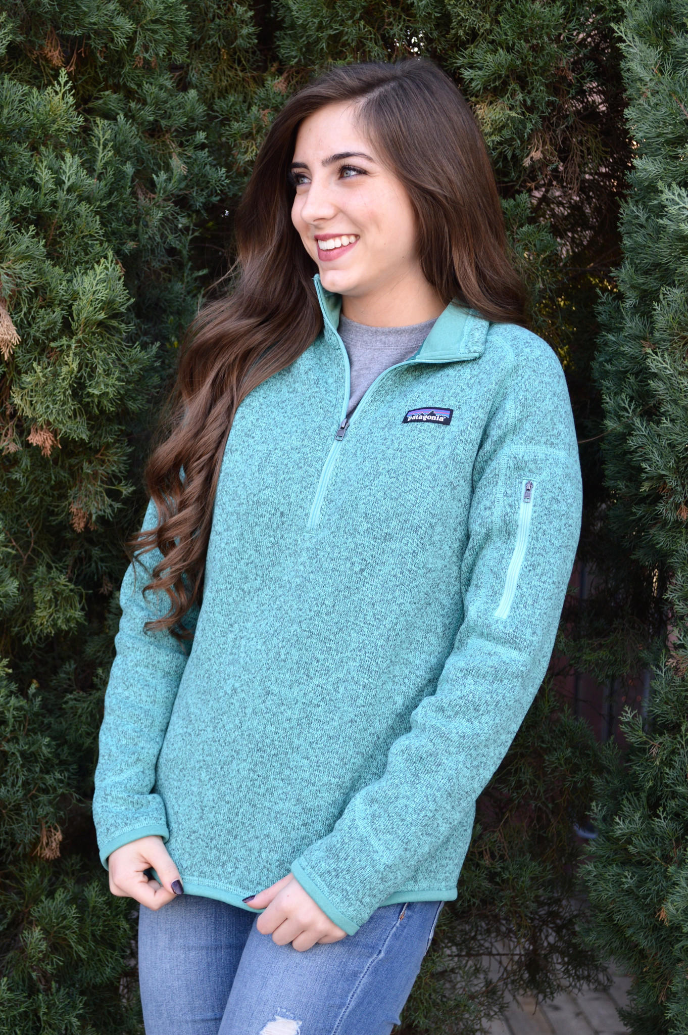 Patagonia Womens Better Sweater Quarter From Shop Southern