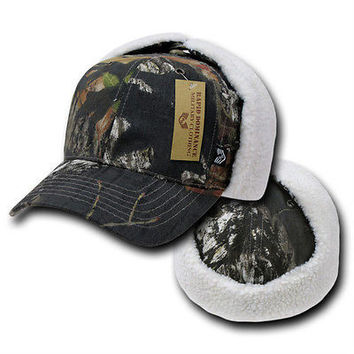 Mossy Oak Camouflage Insulated Hunting Hat Cap- Military Specifications