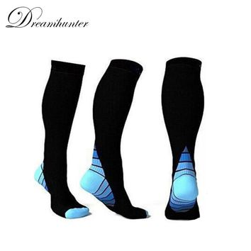 Men Women Compression Socks Unisex Running Walking Sports Sock Breathable  Quick-dry Cycling Socks