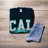 Vintage CAL Sweatshirt! Womens Size Small