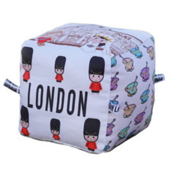 London - Organic Cotton Play Block