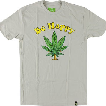 Shake Junt Be Happy Tee S sand Off White
