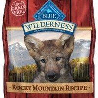 Blue Buffalo Wilderness Beef/Bison/Lamb Puppy Food 4lbs