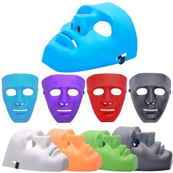 New Type Halloween Mask Dance PVC Mask Masquerade Party Masks Halloween Hip-hop Male Masks 7 Colors