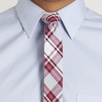 Chris Plaid Tie