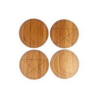Mystical Coasters (4 piece set)