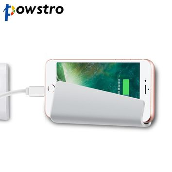 Powstro Phone Stand Holder for Charging Universal Wall Charge Mobile Phone Holder Bracket for iPhone Samsung HTC Sony LG etc