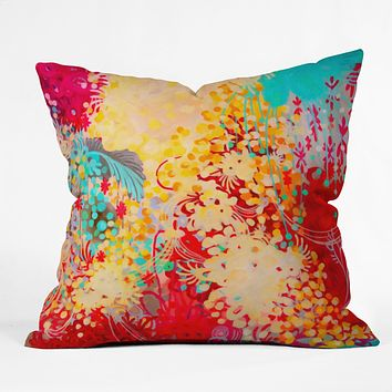 Stephanie Corfee Young Bohemian Throw Pillow
