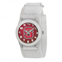 North Carolina State Wolfpack NCAA Kids Rookie Series Watch (White)