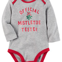 Mistletoe Tester Collectible Bodysuit