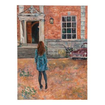 "Grace B. Keogh ""The Visitor"" Painting"