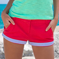 The Brighton Short - Chino - Women's