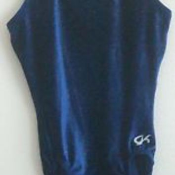 GK Gymnastics Leotard Velvet AL Adult Large