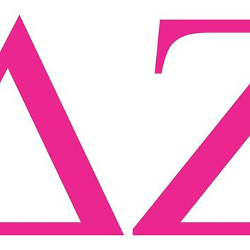 Delta Zeta College Sorority Logo Vinyl Sticker Decal Car Truck Windon Wall Laptop notebook