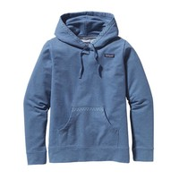 Patagonia Women's Midweight Hooded Monk Sweatshirt | Trim Variety: Glass Blue