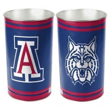 ONETOW NCAA Arizona Wildcats Metal Wastebasket