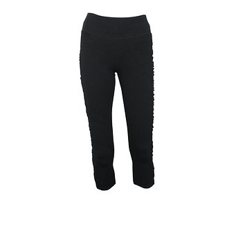 Shirred Crop Legging