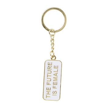 THE FOUND KEYCHAIN - THE FUTURE IS FEMALE