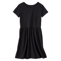 Mossimo Supply Co. Junior's Short Sleeve Fit & Flare Dress - Assorted Colors