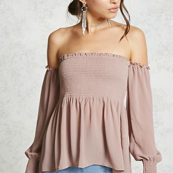 Contemporary Smocked Top