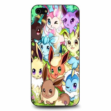 Eeveelution Eevee Vaporeon iPhone 5/5s/SE Case
