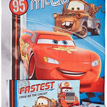 Disney Cars Lightning McQueen Fastest Team Toddler Set, 4 Piece