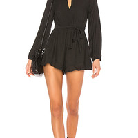 MINKPINK Marie Playsuit in Black | REVOLVE