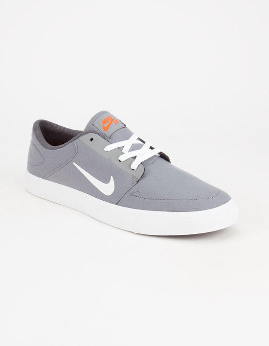 Nike Sb Portmore Canvas Mens Shoes Cool from Tilly s  85aa8bd46