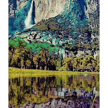 Yosemite National Park Poster 2 - Yoga Mat