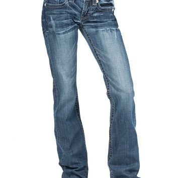 Stetson 816 Fit Classic Bootcut with Diamond Deco Pocket