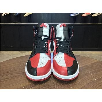 Best Deal Online Nike Air Jordan 1 High Retro HOMAGE TO HOME Men Sneaker Women 555088