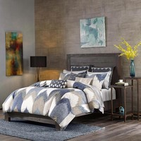 Alpine Cotton Printed Duvet Bedding Set - Bedding | Ink Ivy