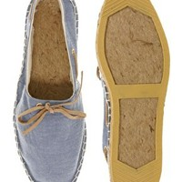ASOS Espadrilles With Tie Front at asos.com