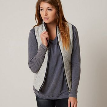 HONEY PUNCH WOOL BLEND VEST