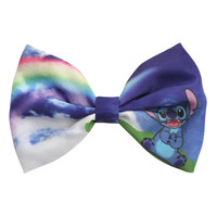 Disney Lilo & Stitch Rainbow Bow Hair Clip