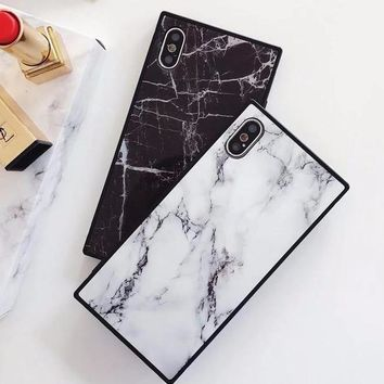 Rectangle Marble iPhone Case