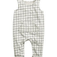 Sleeveless Jersey Jumpsuit - from H&M