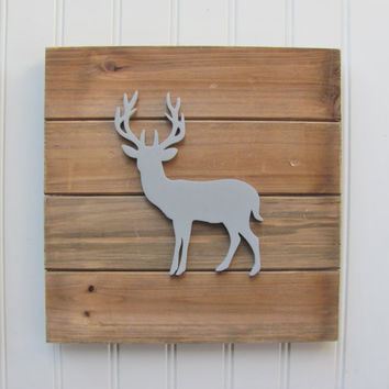 Baby Decor, Woodland Nursery, Nursery Decor, Tribal Decor, Woodland Decor, Nursery Wall Art, Pallet Board, Pallet Sign, Deer Woodland Animal
