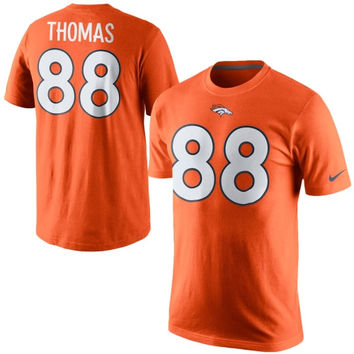 Demaryius Thomas Denver Broncos Nike Player Pride Name & Number T-Shirt - Orange