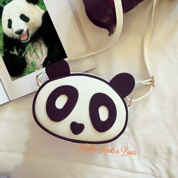 Panda Crossbody Purse, Girls Purses, Panda Purse