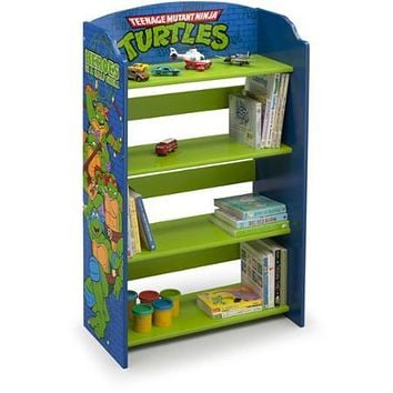 Kids Character 4 Shelf Bookcase, Bookshelf for Kids Bedroom Furniture