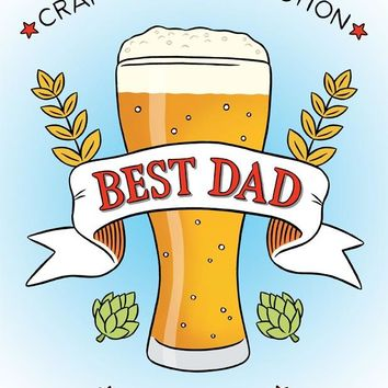 THE FOUND CRAFTED TO PERFECTION BEST DAD CARD
