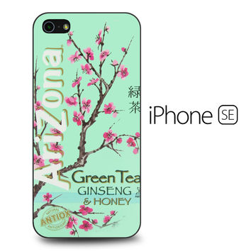 Arizona Green Tea SoftDrink iPhone SE Case