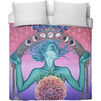 The Gate Of Knowledge -  Duvet Cover