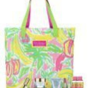 Estee Lauder Lilly Pulitzer Gift Set with Tote
