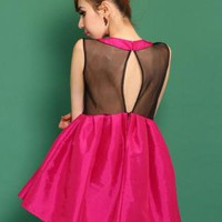 Sexy Halter Puff Dress S010522
