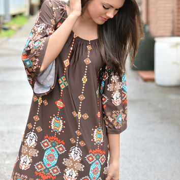 Great Vibes Tunic Dress