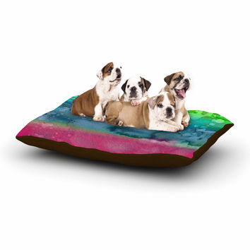 "Ebi Emporium ""California Surf 1"" Green Teal Dog Bed"