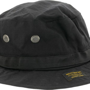Grizzly Established Fishermans Hat Black
