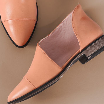 Almond Toe Oxford Flat | UrbanOG